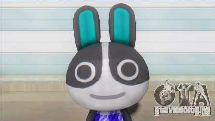 Animal Crossing Dotty Skin V2 для GTA San Andreas