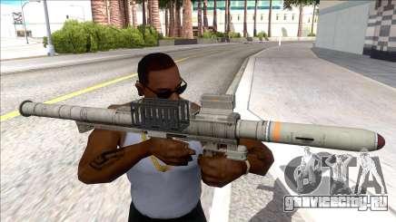 Hawk & Little Homing Launcher Platinum для GTA San Andreas