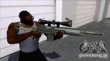 M14 SOPMOD Sniper для GTA San Andreas