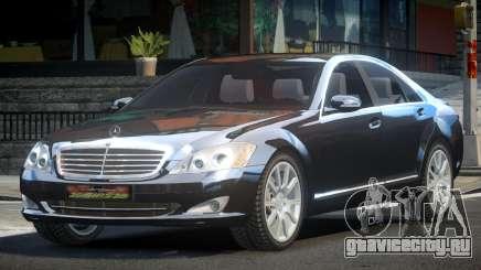 Mercedes-Benz W221 S600 ES для GTA 4