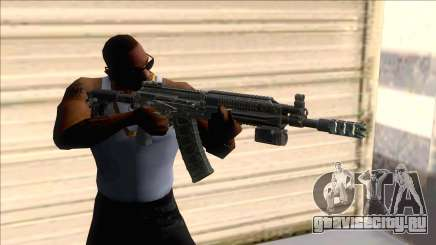 AK-16 Assault Rifle with Flashlight для GTA San Andreas