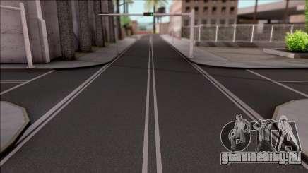 SA New Roads для GTA San Andreas