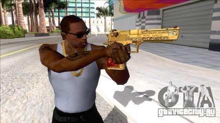 Desert Eagle Blue Estate The Game для GTA San Andreas