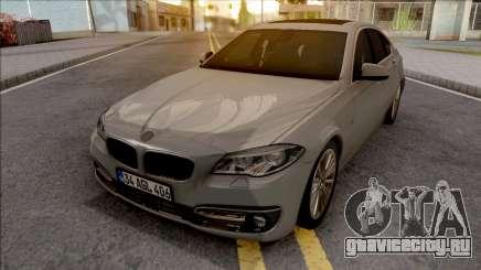 BMW 525D F10 v2 для GTA San Andreas