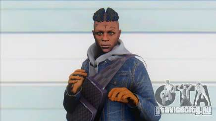 GTA Online Skin Ramdon XXXTentacion V2 для GTA San Andreas