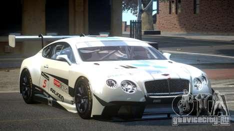 Bentley Continental GT Racing L4 для GTA 4