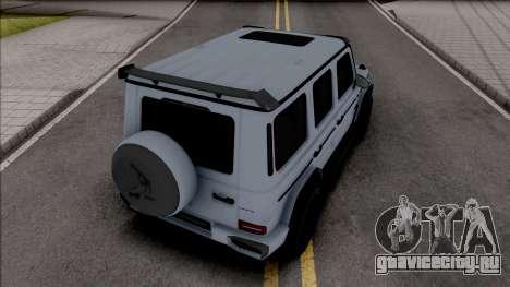 Mercedes-AMG G63 TopCar для GTA San Andreas