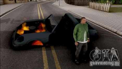 Not Die When Vehicle Explodes для GTA San Andreas