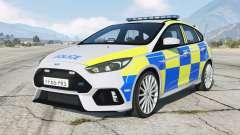 Ford Focus RS Police non ANPR для GTA 5