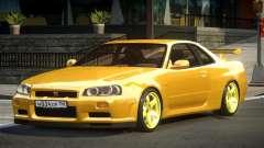 Nissan Skyline GS R34 для GTA 4