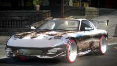 Mazda RX-7 GST L10 для GTA 4