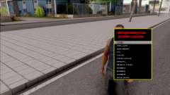 Manager Design v2.0 VIP для GTA San Andreas