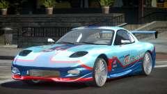 Mazda RX-7 PSI Racing PJ5 для GTA 4