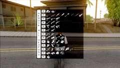Super Fast Weapon Selector для GTA San Andreas