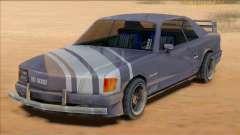 1991 Mercedes 560 SEC Insurgent [SA Style] для GTA San Andreas