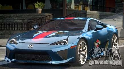 Lexus LF-A SP R-Tuning L7 для GTA 4