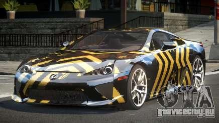 Lexus LF-A SP R-Tuning L2 для GTA 4