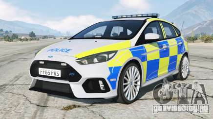 Ford Focus RS Police non ANPR для GTA 5