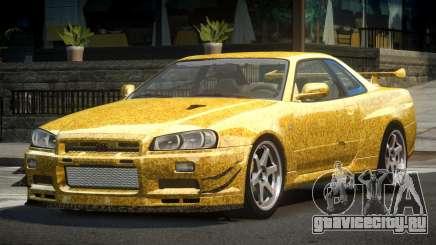Nissan Skyline PSI R34 L2 для GTA 4