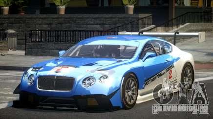 Bentley Continental GT Racing L3 для GTA 4