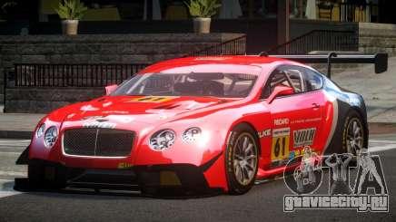 Bentley Continental GT Racing L5 для GTA 4