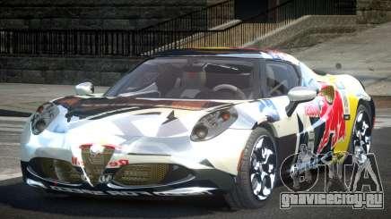 Alfa Romeo 4C SR PJ5 для GTA 4