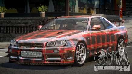 Nissan Skyline PSI R34 L6 для GTA 4