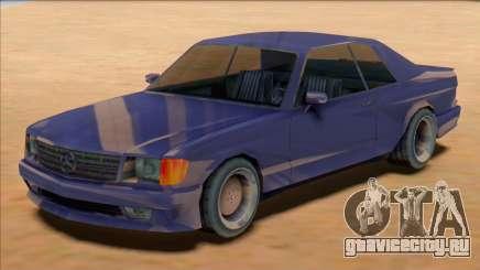 1991 Mercedes 560 SEC AMG [SA Style] для GTA San Andreas
