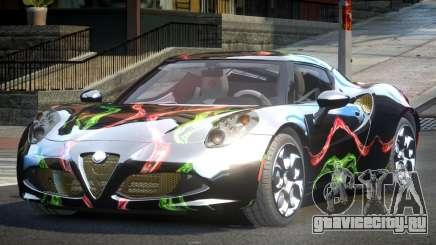 Alfa Romeo 4C SR PJ10 для GTA 4