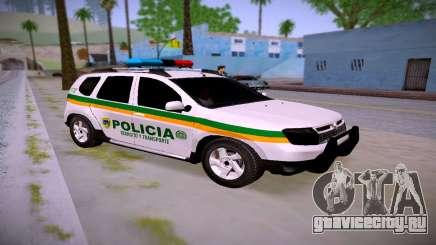 Duster Policía De Transito Colombia для GTA San Andreas