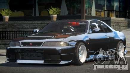 Nissan Skyline R33 L-Tuned для GTA 4