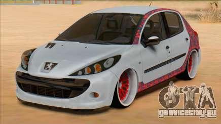 Peugeot 207 Red Sport для GTA San Andreas