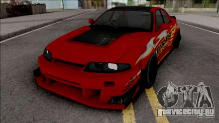 Nissan Skyline R33 Uras GT для GTA San Andreas