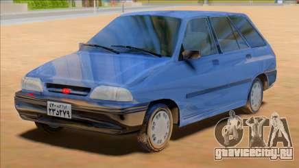 KIA Pride Wagon [Saipa Safari] для GTA San Andreas