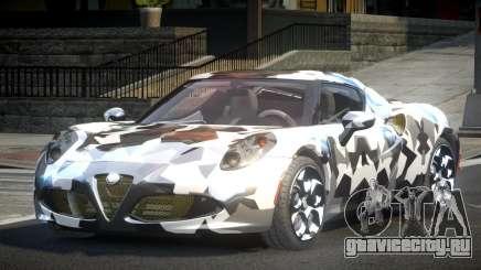 Alfa Romeo 4C SR PJ9 для GTA 4