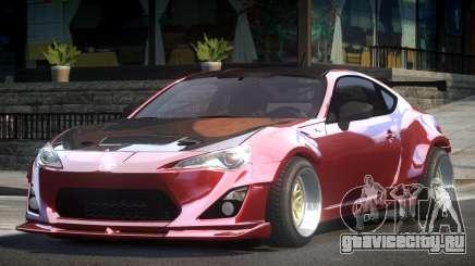 Toyota GT86 GRS для GTA 4