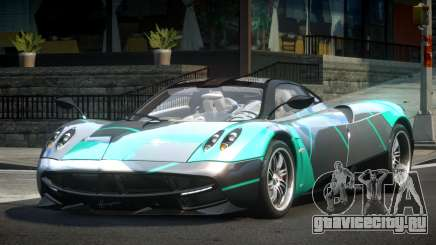 Pagani Huayra BS Racing L1 для GTA 4