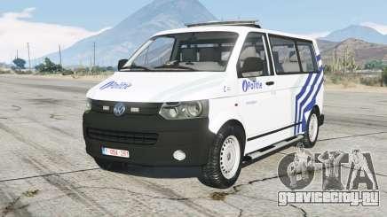 Volkswagen Transporter Kombi (T5) Politie для GTA 5