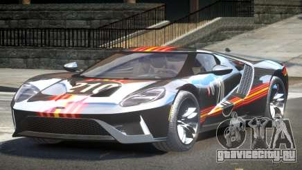 Ford GT BS Racing L9 для GTA 4