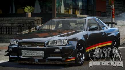 Nissan Skyline PSI R34 L5 для GTA 4