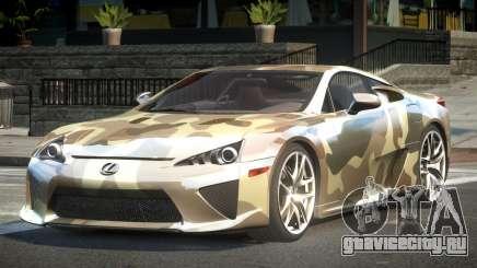 Lexus LF-A SP R-Tuning L10 для GTA 4