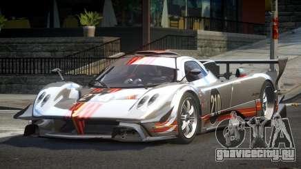 Pagani Zonda GST Racing L3 для GTA 4