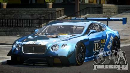 Bentley Continental GT Racing L8 для GTA 4