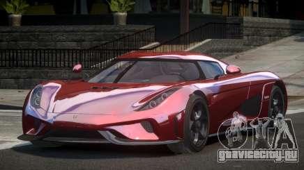 Koenigsegg Regera GT для GTA 4