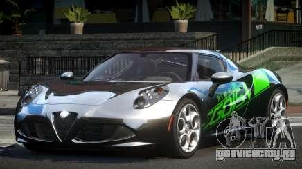 Alfa Romeo 4C L-Tuned L9 для GTA 4