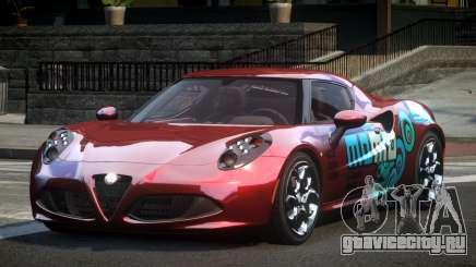 Alfa Romeo 4C L-Tuned L8 для GTA 4