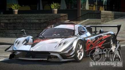 Pagani Zonda GST Racing L2 для GTA 4