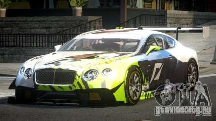 Bentley Continental GT Racing L10 для GTA 4