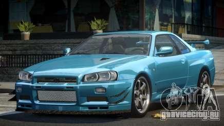 Nissan Skyline PSI R34 для GTA 4