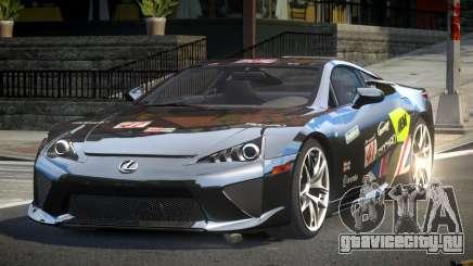 Lexus LF-A SP R-Tuning L1 для GTA 4